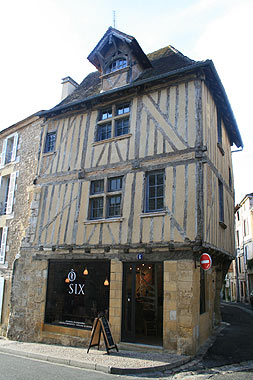 old bergerac townhouse