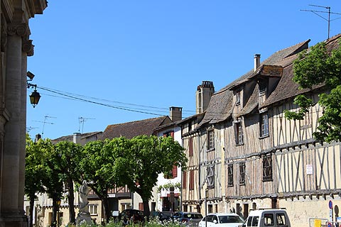 Town centre of Bergerac