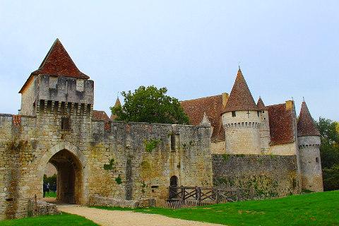 bergerac castles